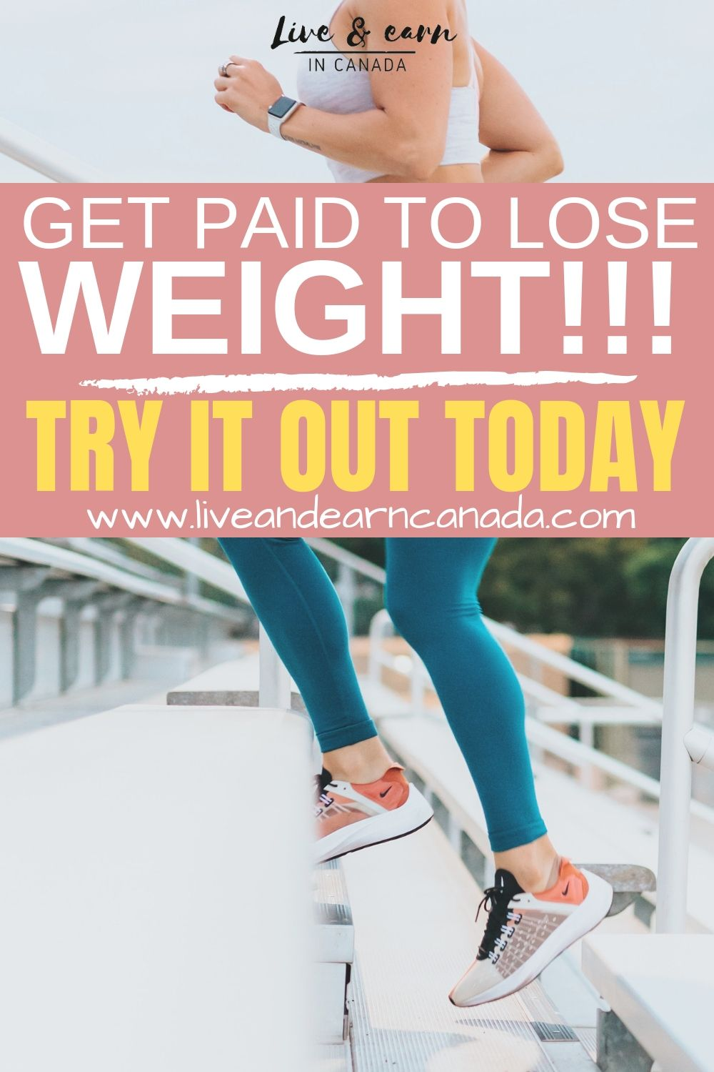 Is it possible to make money by losing weight? There is now a platform that allows you to make extra money by losing weight and a lot of people are doing it! Read the post for more information #weightloss #fitness #health #makemoney