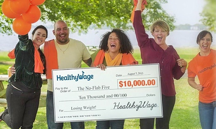 HealthyWage Team Challenge weight loss! Win over $10, 000 with HealthyWage team #healthywage #weightloss