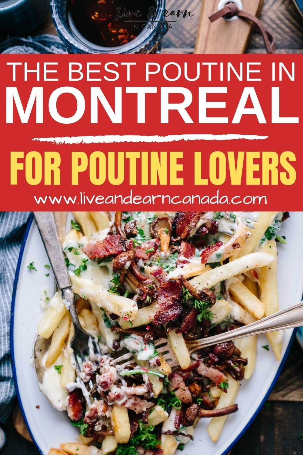Here is a list of the best Poutine in Montreal! These restaurants offer the best poutine in Montreal #montreal #poutine