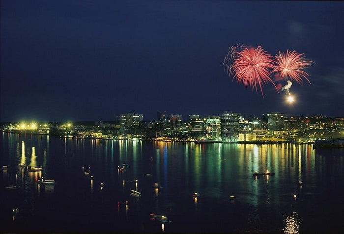 Fireworks in Halifax