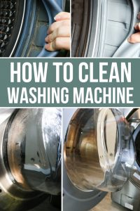 How to wash your washing machine this spring to help clean your clothes better!