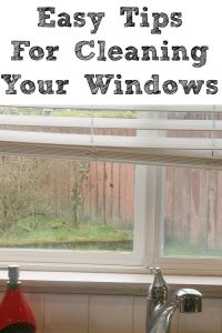 Tips for cleaning your window during spring!