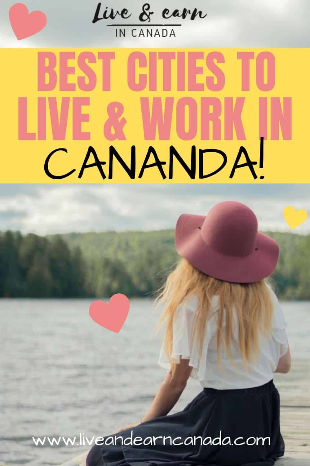 Here are the best cities to live and work in Canada. If you want to move to Canada and you are looking for the best cities to visit and live in Canada, then be sure to check out this list. Canada has so many beautiful cities to choose from. You can visit Montreal, work in Ottawa, enjoy the view in Vancouver. Be sure to visit Canada on your next vacation planning. Live and earn in Canada is now easier #Canada #Discovercanada #workincanada #Traveltocanada