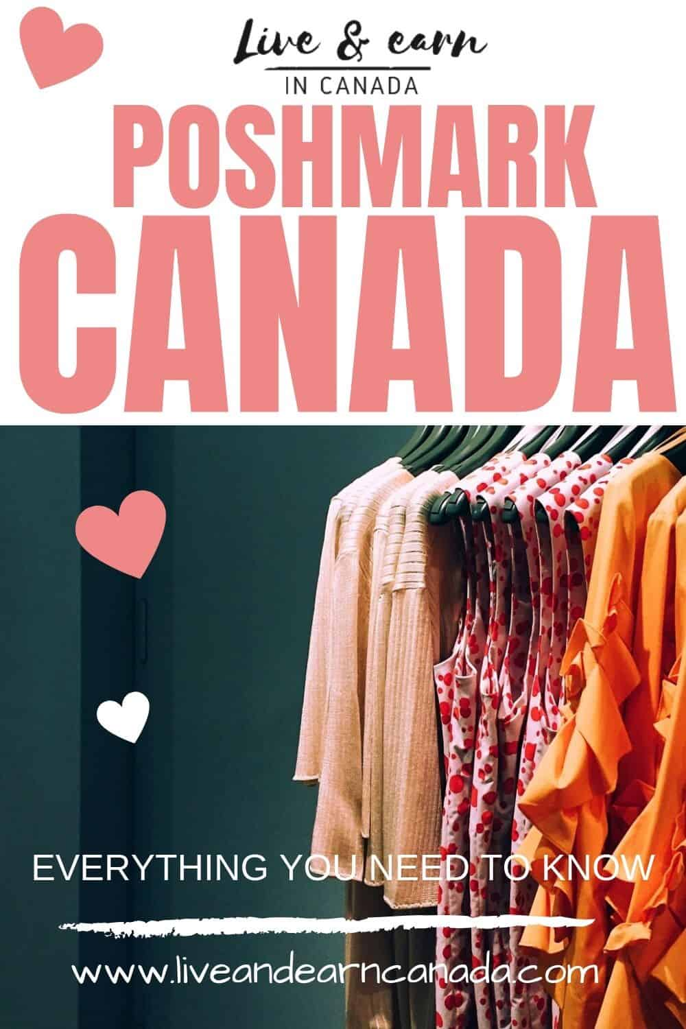 Poshmark Canada, everything you need to know about this. Did you know that Poshmark is now in Canada? How to make make money using Poshmark in Canada #poshmark #poshmarkreview #poshmarkcanada / Poshmark Canada/ Poshmark Review