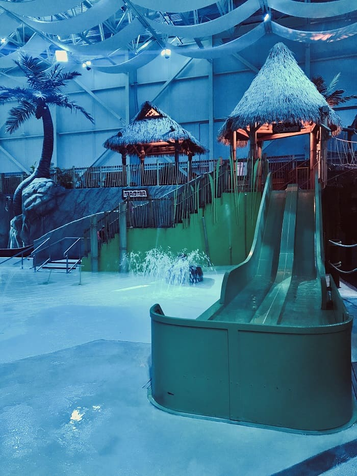 Quebec water parc for families