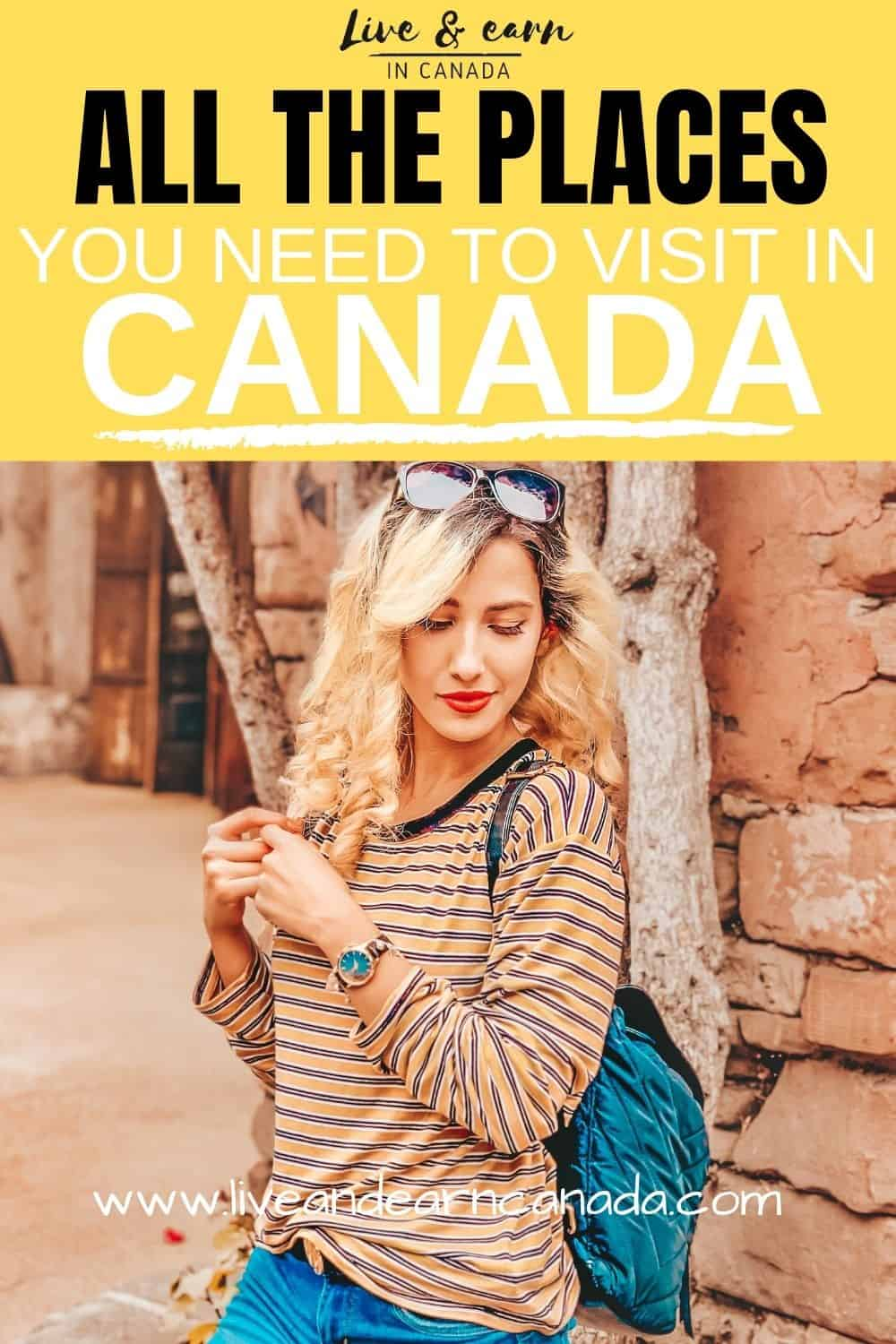Here is everything you need to know about visiting Canada and all the provinces. Want to travel to Canada, here are the tips to follow #visitingCanada #ExploreCanada #Canadaprovinces #ThingstodoinCanada