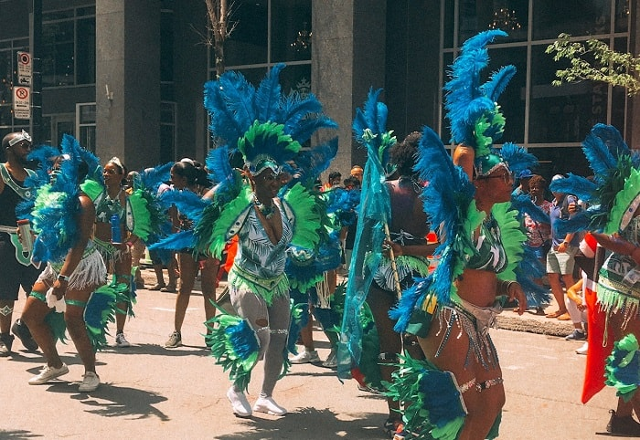 Carifiesta Caribbean Event, the best event in Montreal. If you are looking for free things to do in Montreal, be sure to attend the Carifiesta! #Montreal #Carivibe