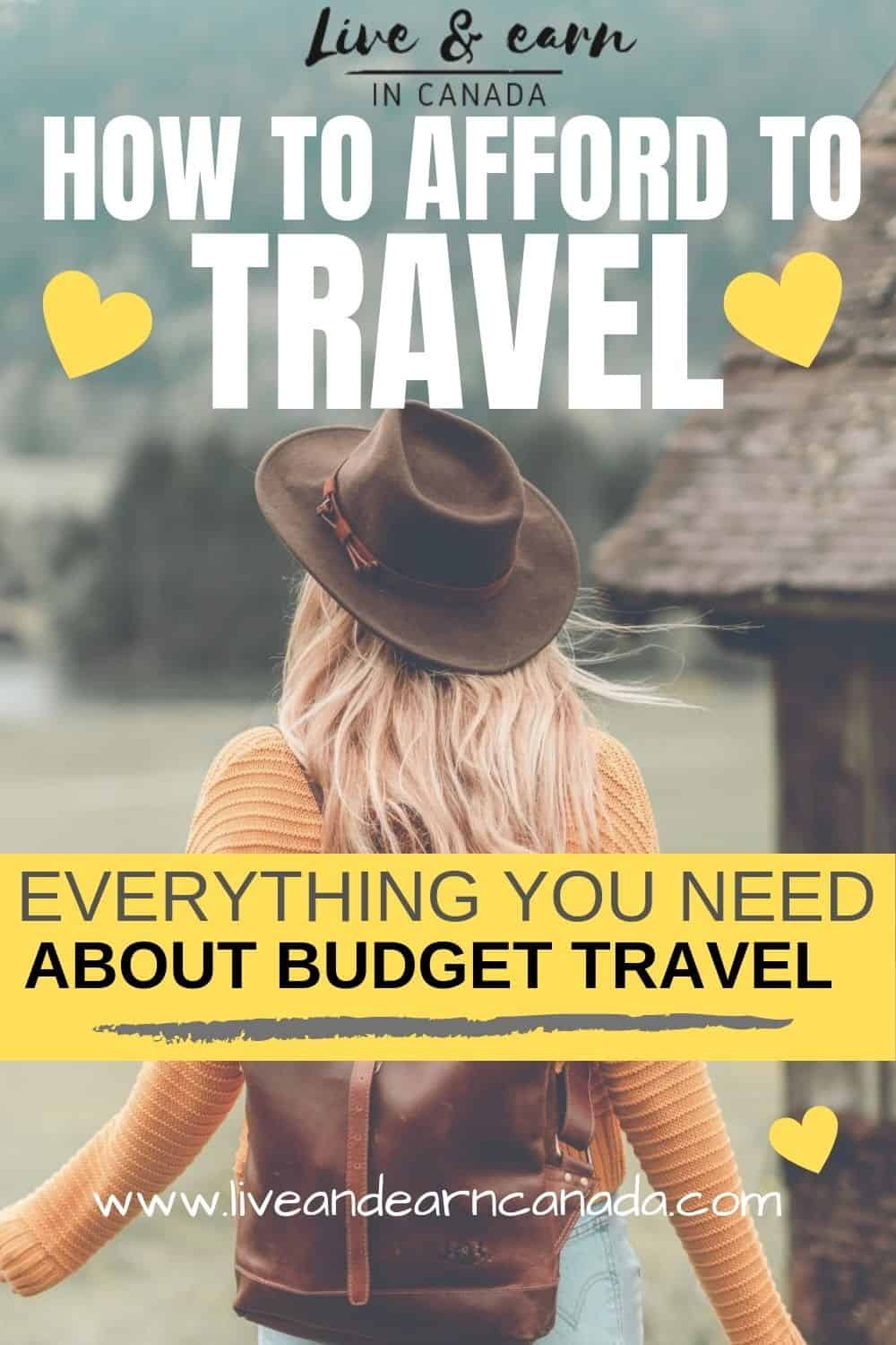 Here is how to afford to travel with a small budget. Tips on how to save money while on a vacation. Afford to travel any time #traveltips #beachlife #vacationtips #travel