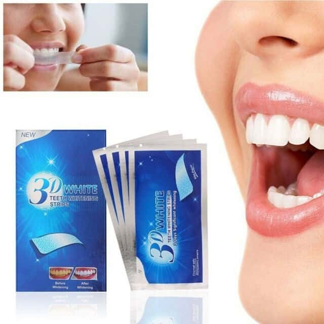 3d whitening strips for teeth