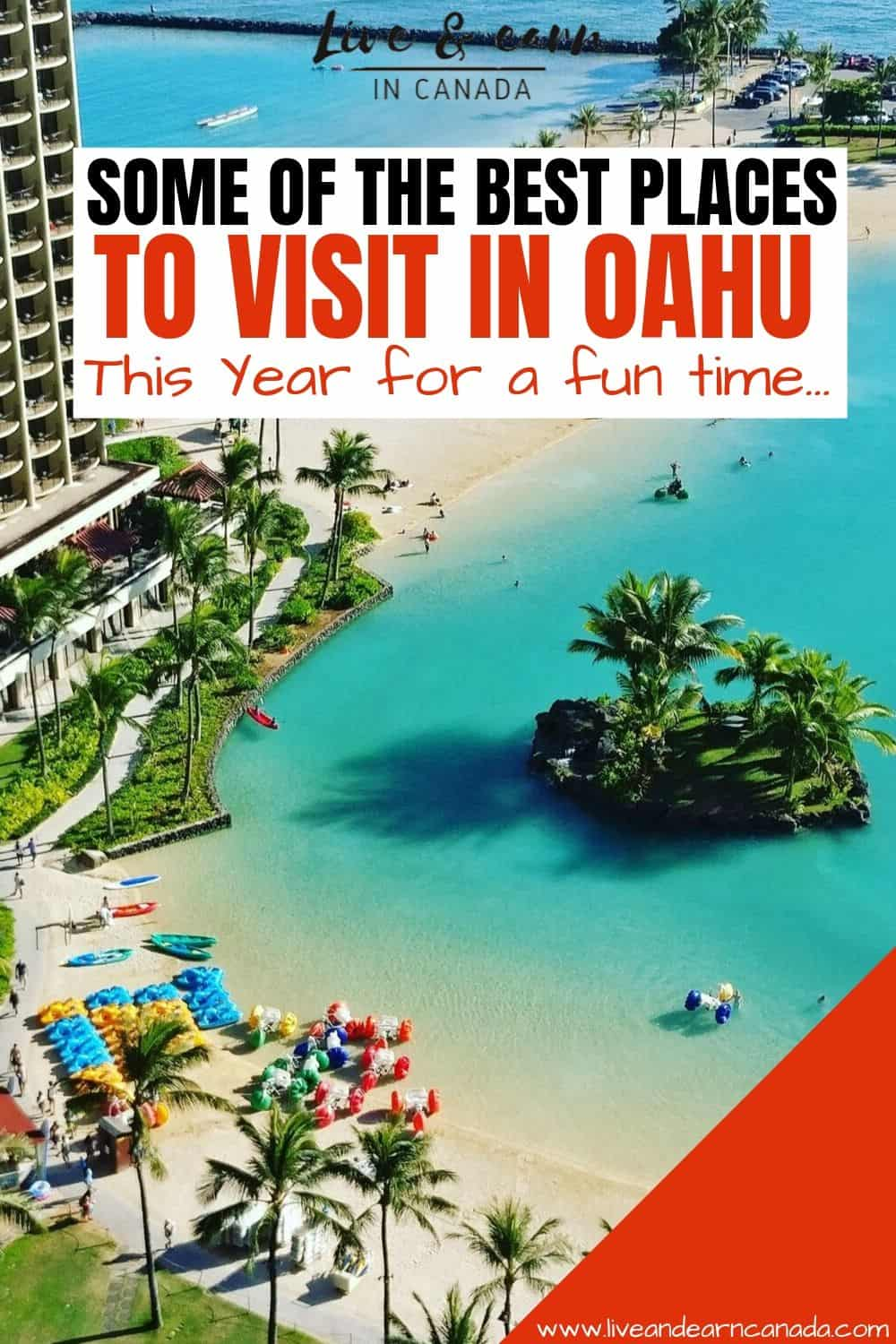 Are you looking for the best places to visit in oahu hawaii? Or things to do in oahu hawaii? Here is our top guide for activities to do in Oahu, the best food in Oahu and all the attractions! Find our full guide included here #Hawaii #Oahu #vacationinhawaii #beachtravel #traveltips