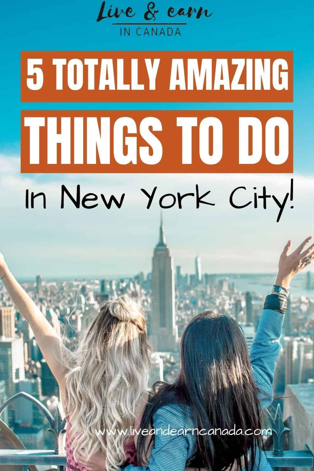 Travel Guide to New York City | Best Things to do in New York | New York Bucket List | New York Itinerary | New York City Vacation | What to do in NYC | #newyork #nyc #travel via @liveandlearncanada