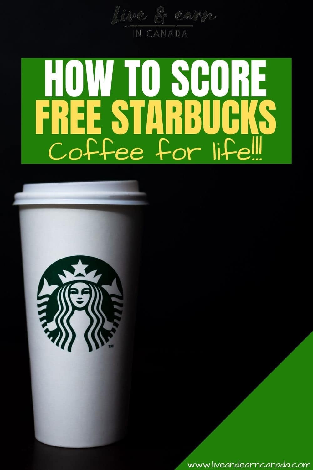 If you are looking for ways to get free Starbucks coffee, we have all the tips you need right here. Here is how to get free Starbucks drinks everyday for life. Get yourself free Starbucks coffee order right now #freecoffee #starbucks #coffeelovers #getcoffee