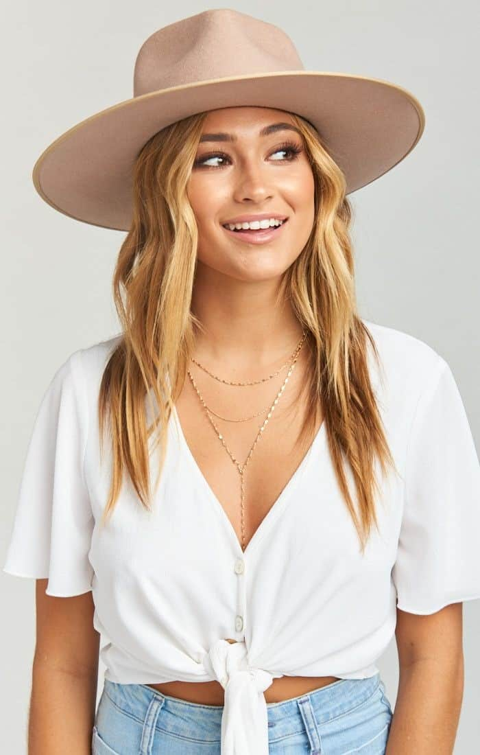 Cute hat for the spa