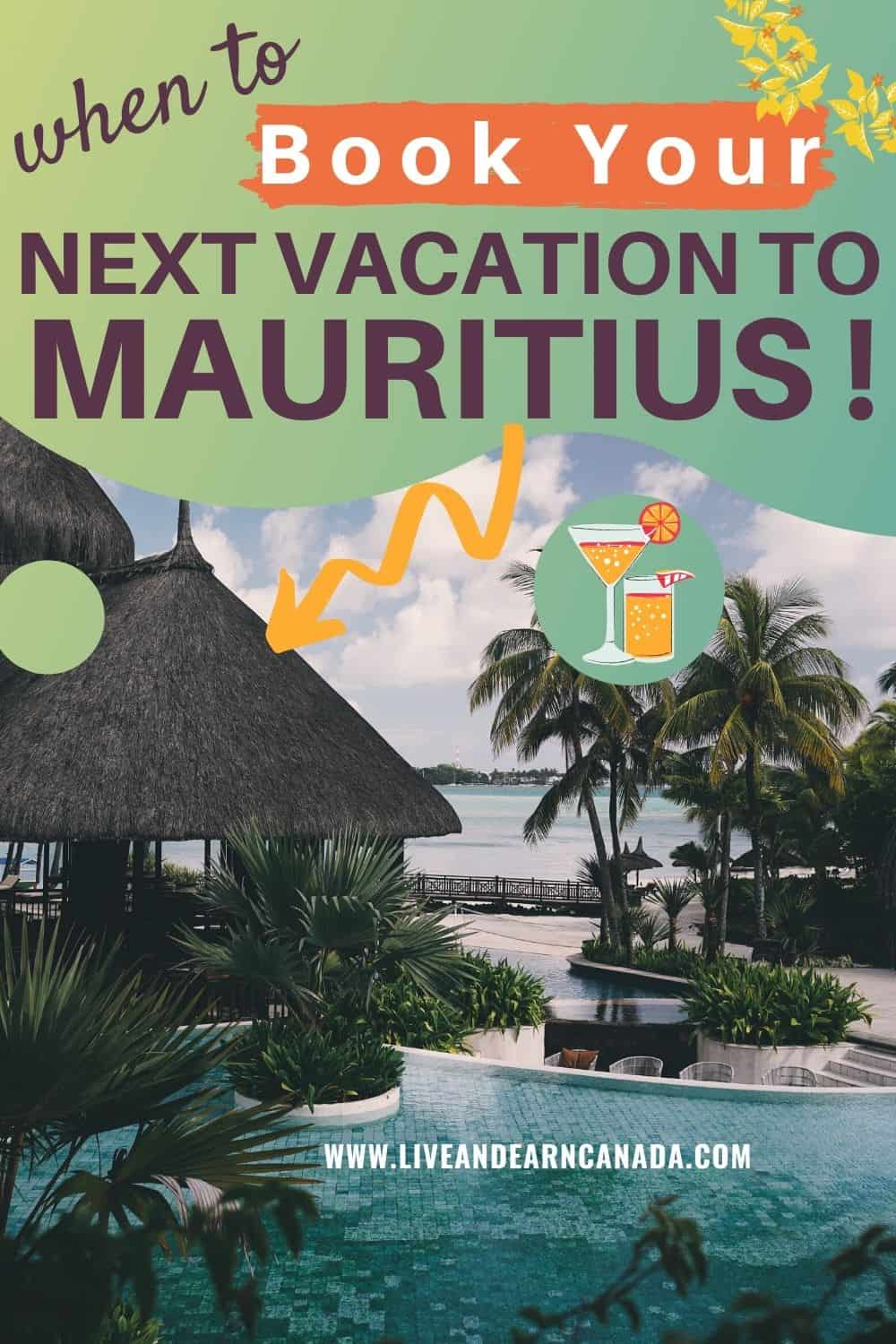 If you are thinking of traveling to Mauritius and you want the best possible time to visit, we have a list of the perfect time. Mauritius is a beautiful island near Africa. With plenty of amazing things to do in Mauritius, you will have a great time #visitmauritius #Mauritius #TriptoMauritius #beachlife