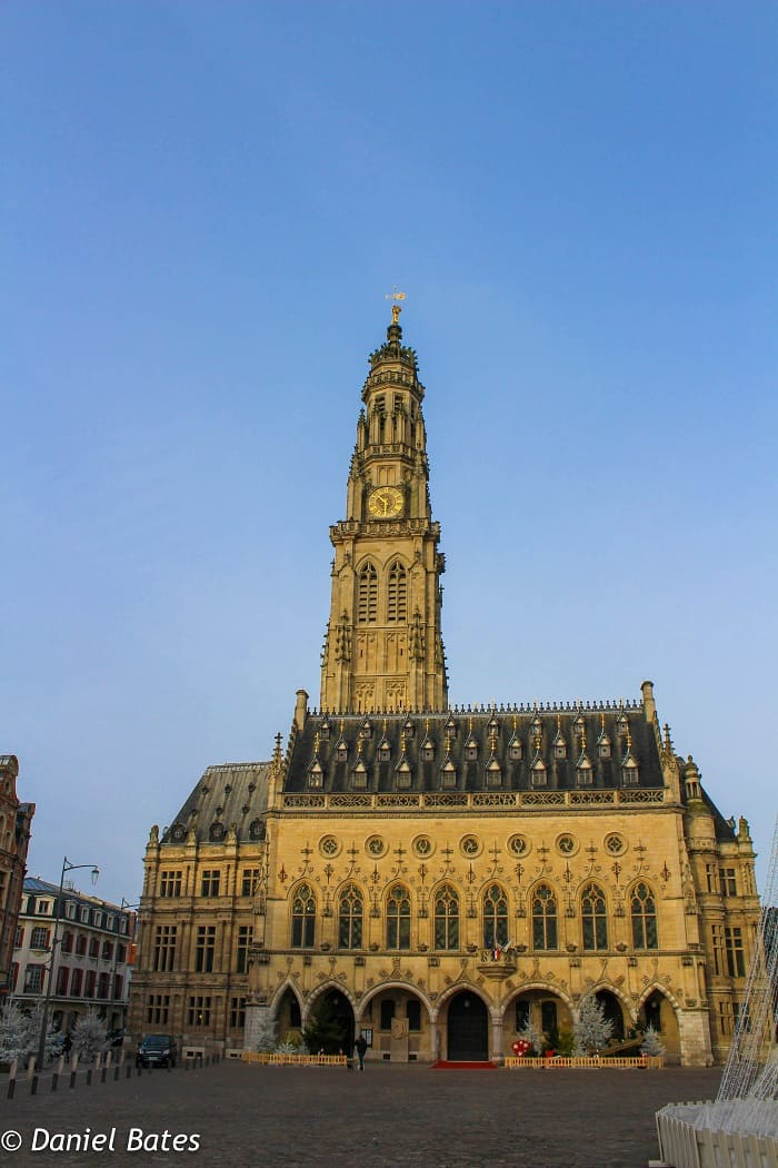 Arras is a beautiful City in the North part of Paris.