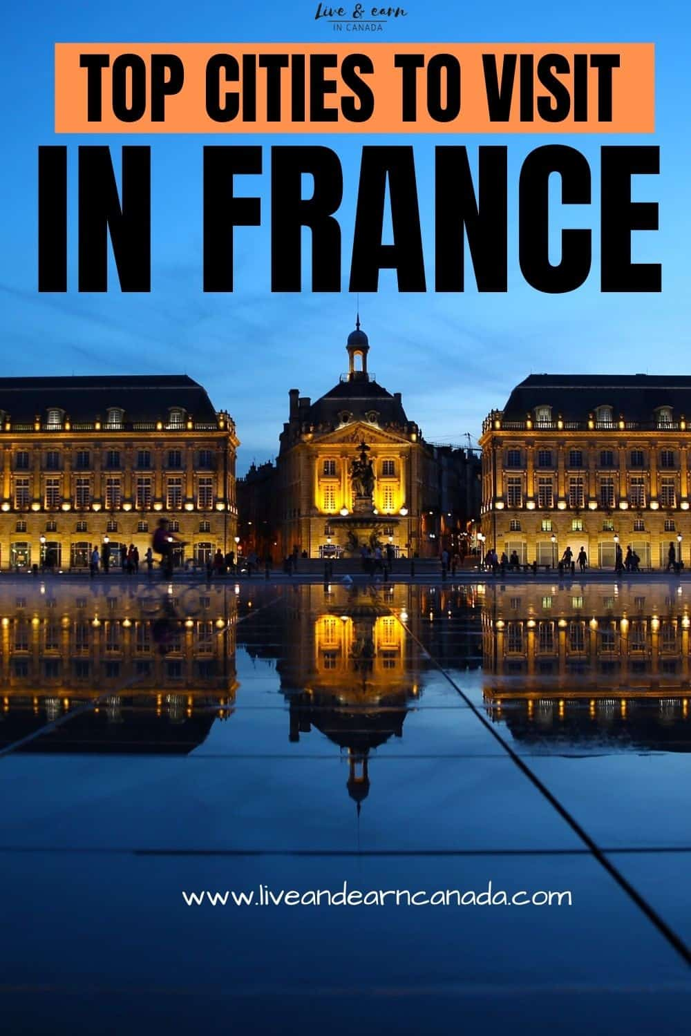 The best places to visit in France. We are sharing some of the most beautiful places to visit in France #visitfrance #triptoFrance Travel to some of the most beautiful places in France today!