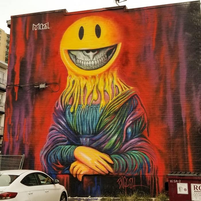 Here are a few street art in Montreal that you can enjoy during the summer #montral #visitMontreal