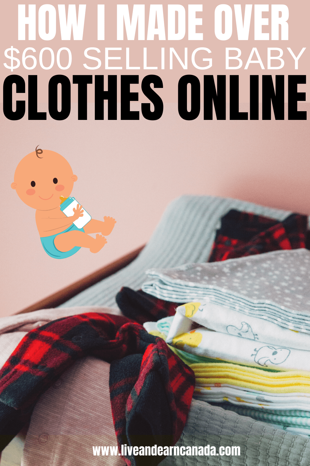 Here are our tips for selling clothes online for cash. Use our ideas for selling clothes online to make money from home. We also listed tips for selling clothes online in Canada. This is the ultimate guide for finding the best places to sell your old clothes online for money. #makemoneyonline #makemoneyfromhome #sidehustle #makemoney #frugal #makemoneyfast start selling new, used, recycled, vintage or high end clothes online.