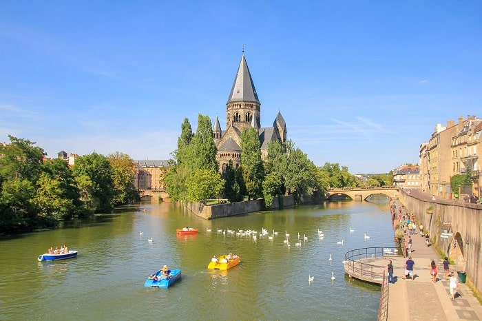 The best city to visit in France is Metz