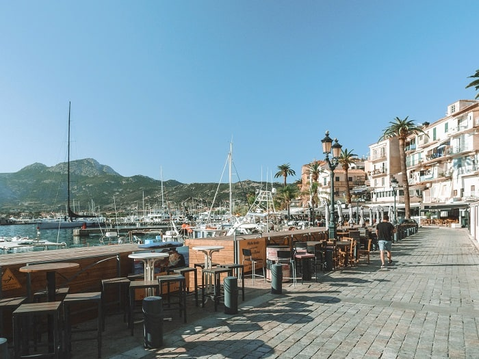 The most beautiful destination in France is Calvi