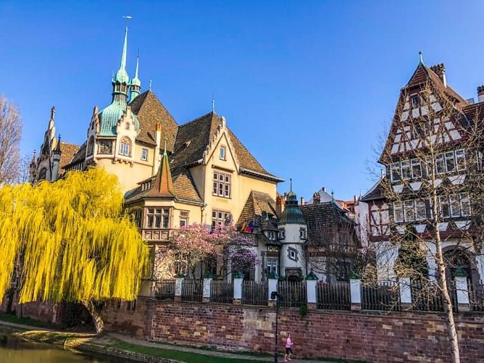 Visiting Strasbourg in France this holiday season
