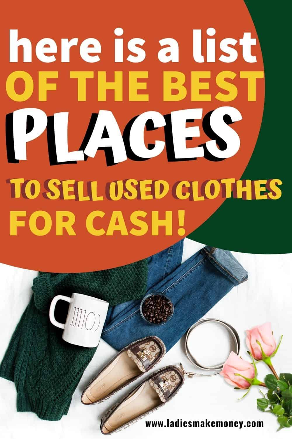 Are you looking to sell your old clothes for cash? Here are some of the best places to sell old clothes for cash today. We have a great list of the best place to sell clothes online #sellclothes #makemoneysellingclothes