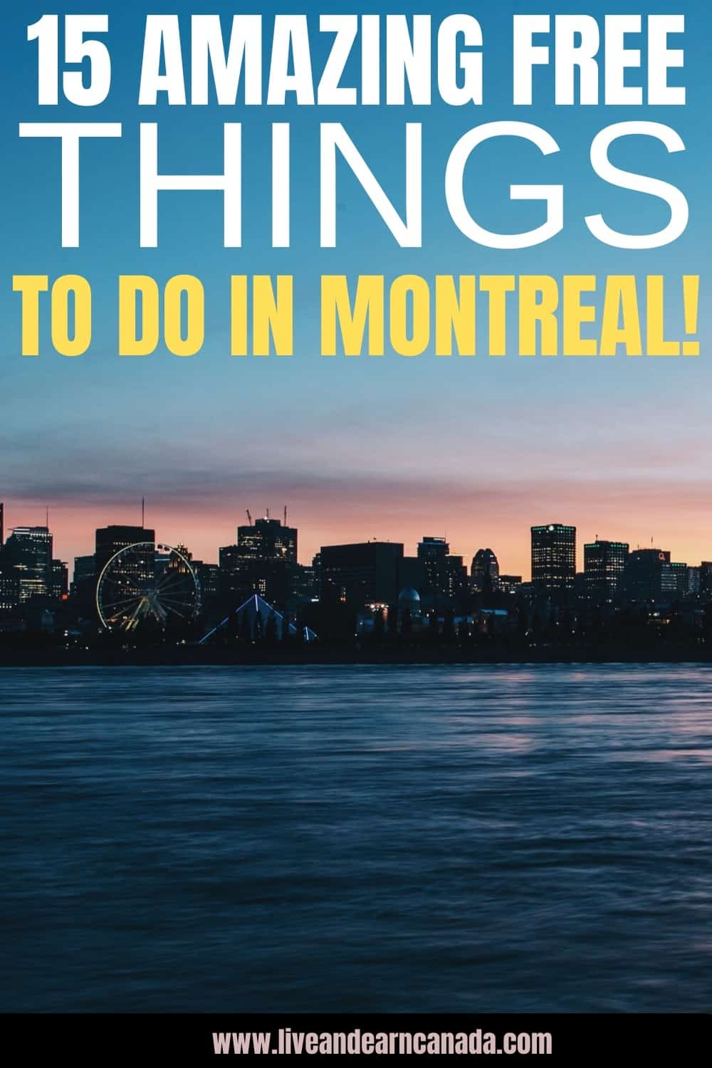 Are you looking for free things to do in Montreal, Canada? What ever you need, we have listed a few fun and cheap things you can do in Montreal today! #Montreal #Whattodoinmontreal