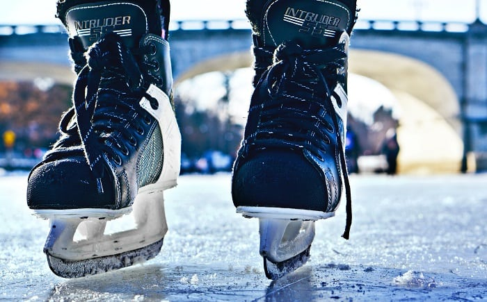 Go skating on the rideau canal in Ottawa this winter!
