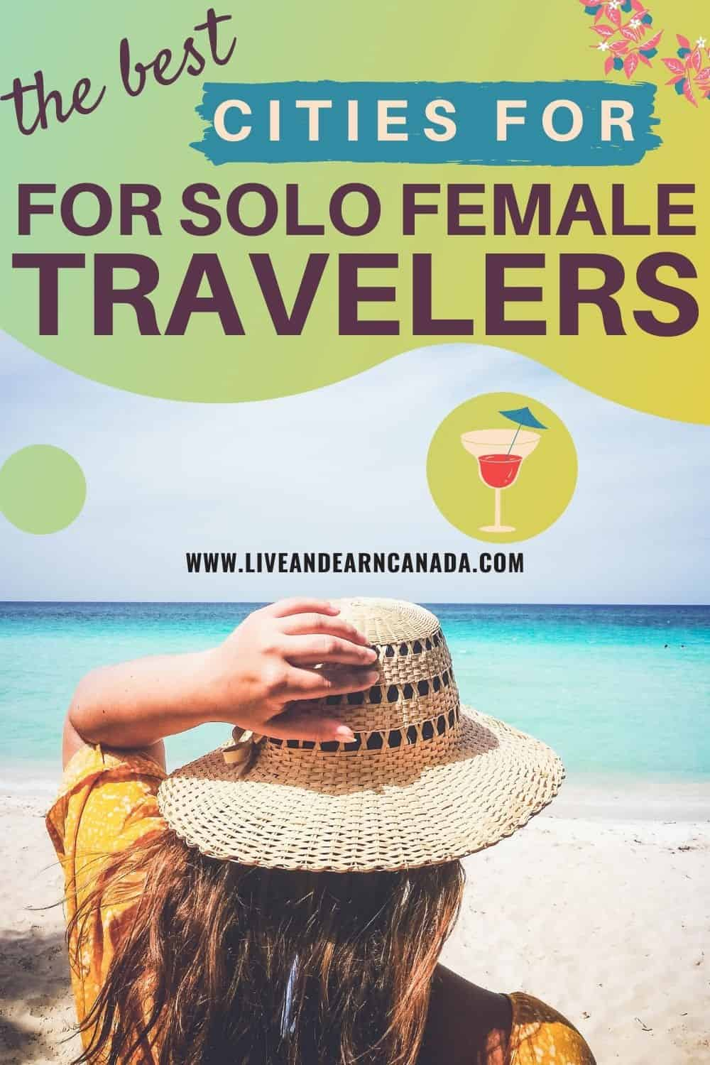 Here some of the best cities for solo female travelers. Traveling solo for the first time can be intimidating, here is a list of some best cities for solo travel. If you are looking for unique travel destinations then check out this comprehensive list. Beaches, historic towns, volcanoes, all beautiful and serene. #travelcities