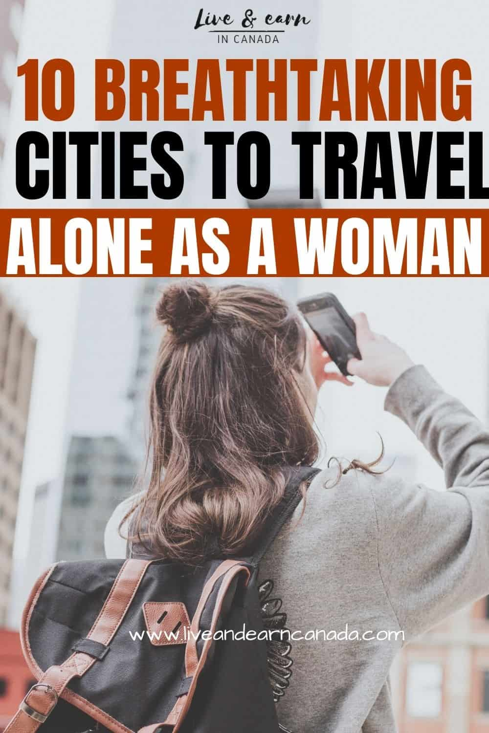 We have listed the best places to travel alone for women, in this post, you will find the best solo female destinations that are totally safe to go to alone. Find safety tips to travel alone as a woman #travelalone #femalesolotrips