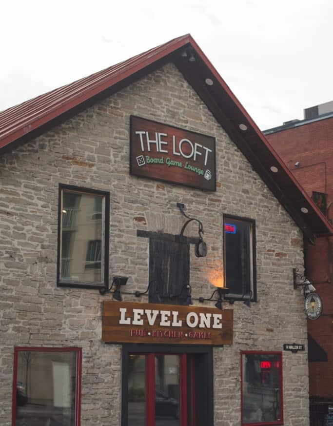 The loft board game lounge in Ottawa! Go to the Loft for your next date in Ottawa #dateinottawa #ottawadates