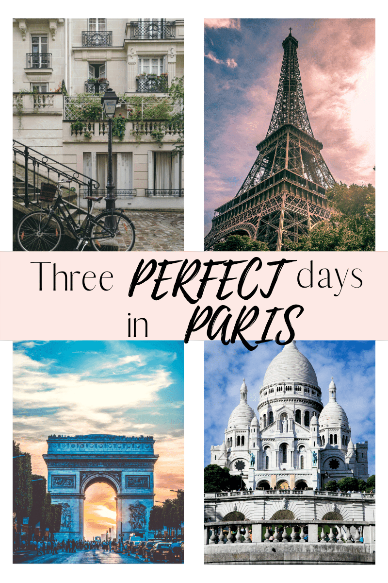 Three perfect days in Paris! If you are looking for the best 3 days in Paris Itinerary on a budget, click here. Check our best Paris Itineraries, with the perfect 3 days in Paris Itinerary. What to do in Paris for 3 days, and more #Parisintinerary #visitParis #triptoParis