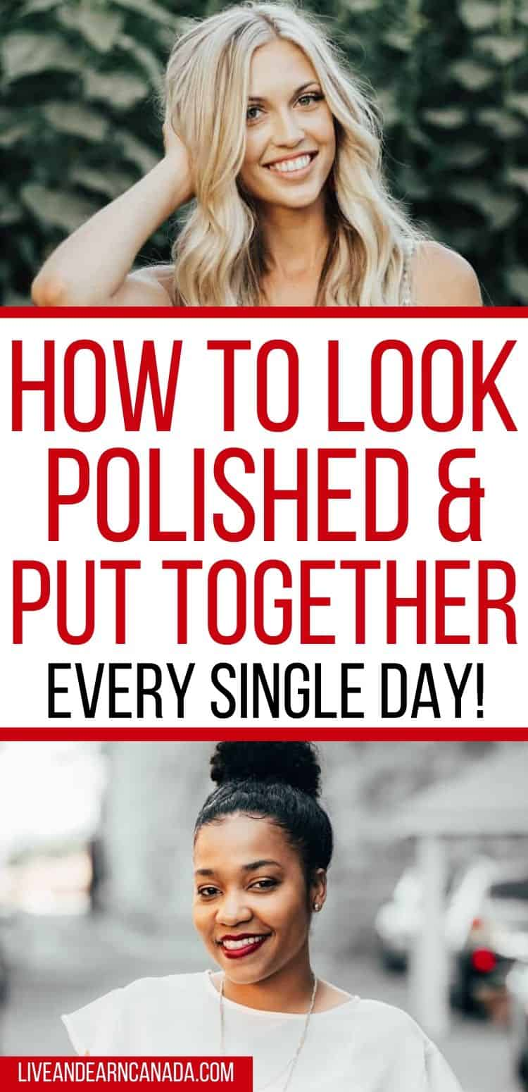 Tips on ways to look put together, we have a great list. Get our classy tips on how to look polished and put together at all times. Not sure what to wear? Here is a list of things polished women do to look perfect at all times #lookpolished #whattowear