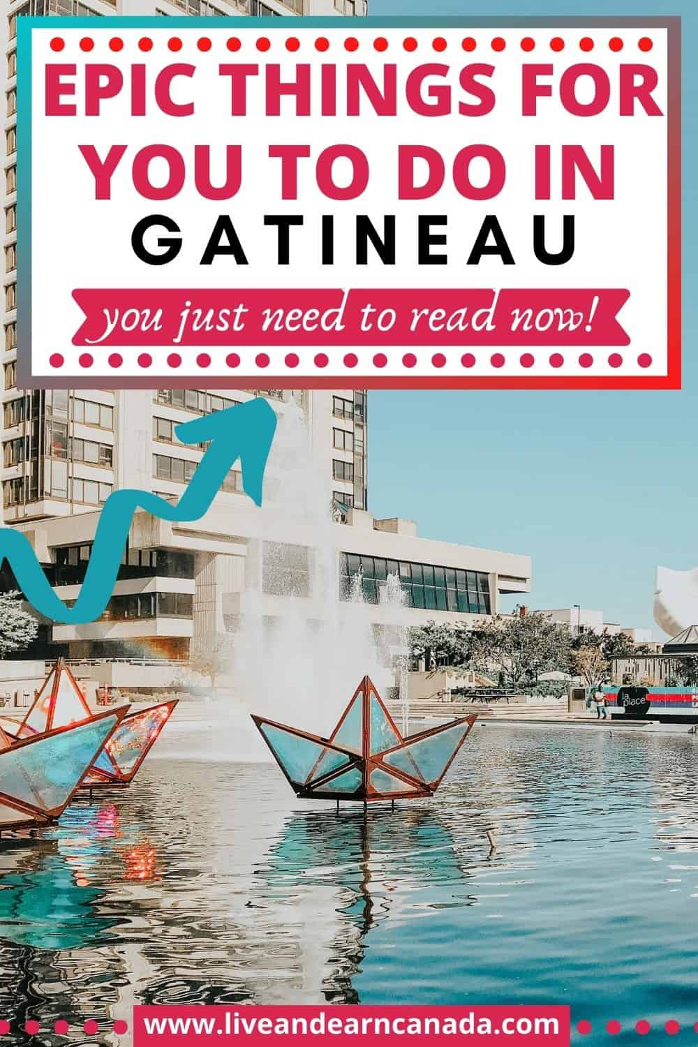 Are you looking for things to do in Gatineau? Gatineau is located near Ottawa in Canada and it is how to plenty of amazing things. Enjoy some good food, great people and sightseeing activities when you visit Gatineau. #Gatineau #Traveltocanada