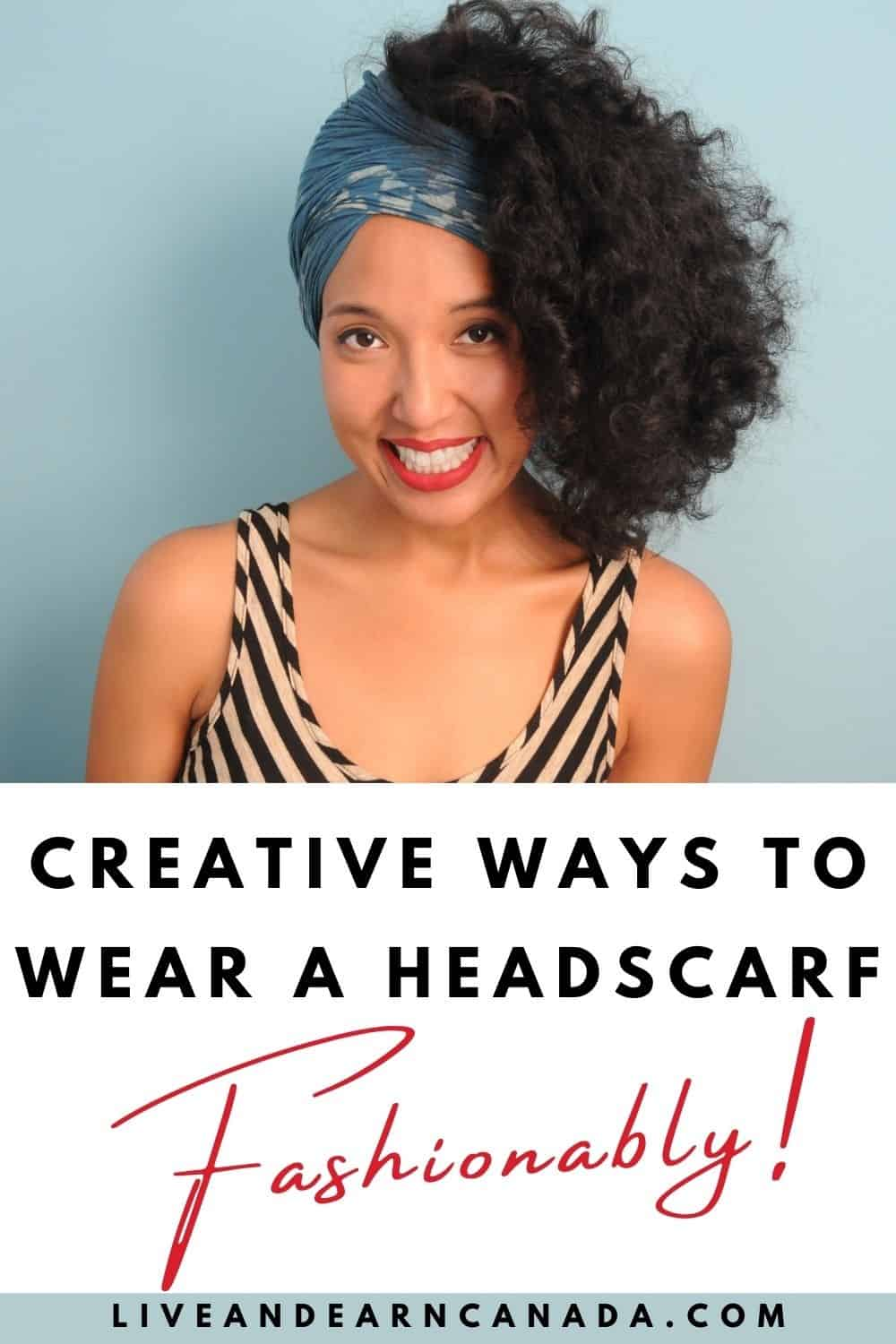 Here are 13 Ways to Wear a Head Wrap Looking for a how-to video tutorial of how to wear a head wrap? 13 of my favourite ways to style a headwrap as a protective style. #headwrap #headwraps #blackbloggers! Here are 13 Scarf Wrap Hairstyles You Need to Try |