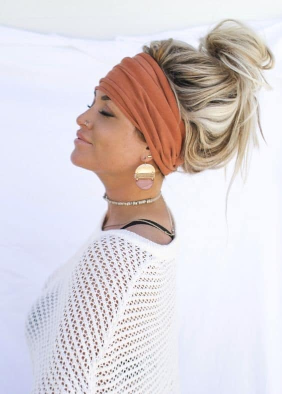 This twist turban Headband is perfect for styling any hair style.