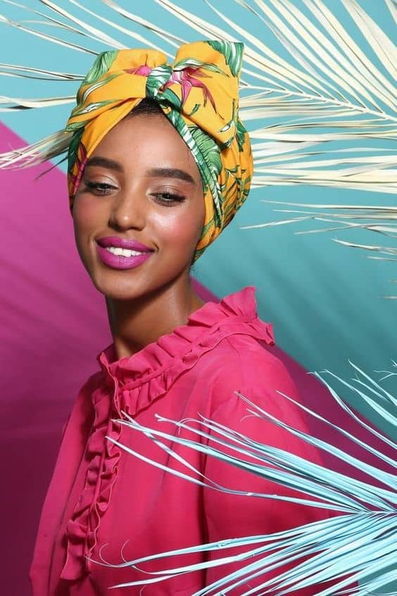 Bow turban head scarfs you can use to accessories your hair!