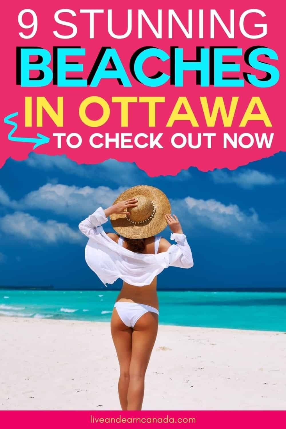 Whether you are looking for the best beaches in Ontario or the best beaches in Ottawa, we have you covered. Here is a list of 9 Beaches In And Around Ottawa You Need To Relax On This Summer! #ottawabeach #beachinottawa #beachlife