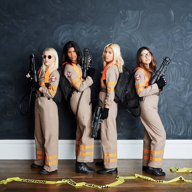 who ya gonna call? Ghostbusters. DIY Ghostbusters Halloween Group Costume