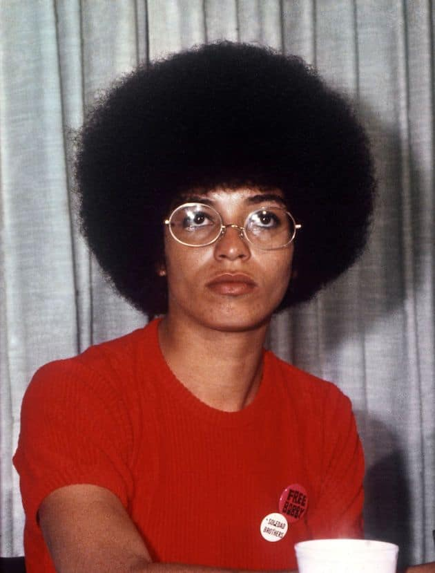 Angela Davis - Powerful activist! empowering black women quotes to motivate you! 50 Empowering Quotes From Women of Color! 50 Best Strong Women Quotes In Celebration Of Women and their courage!