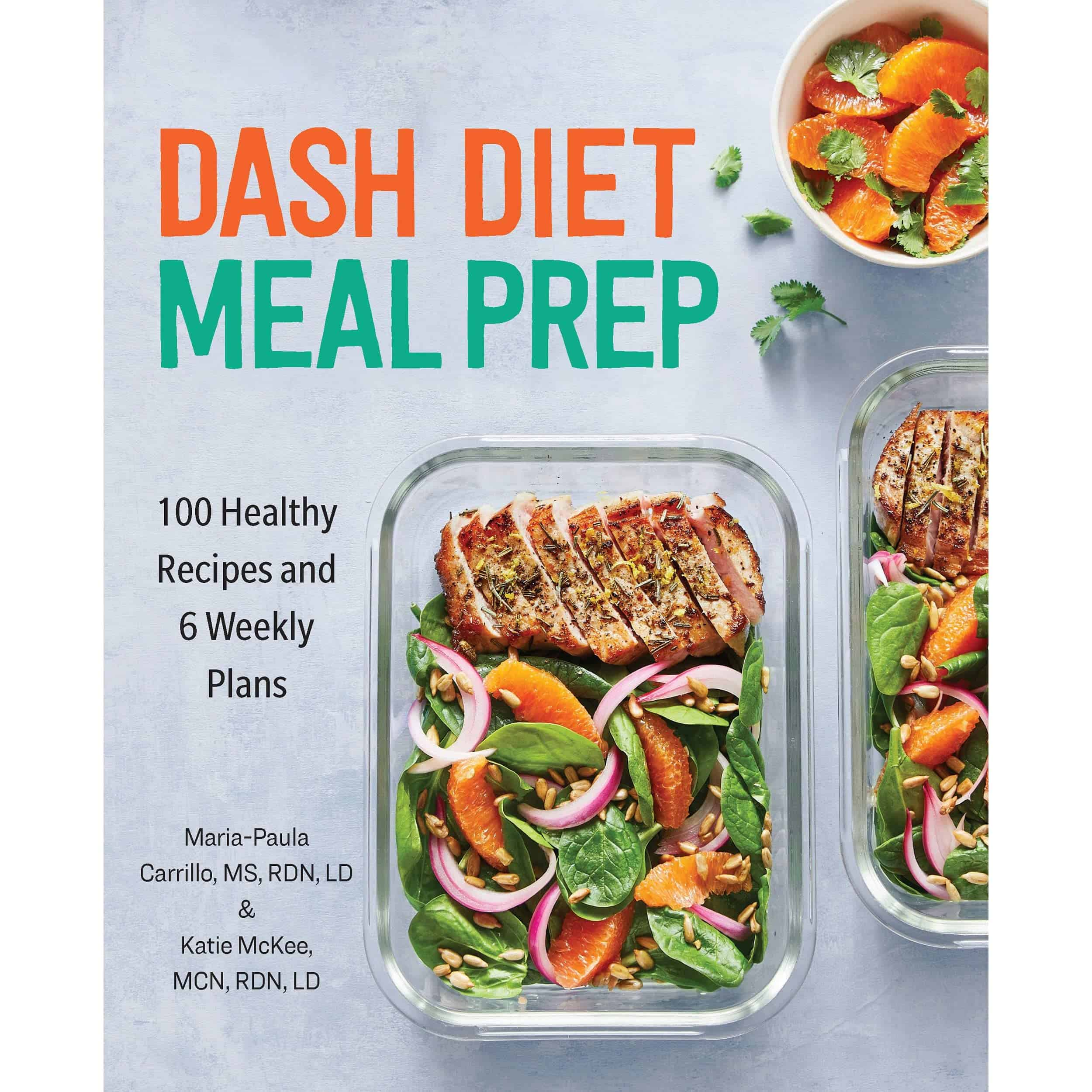 Healthy Dash diet meal prep plans for those suffering with high blood pressure!