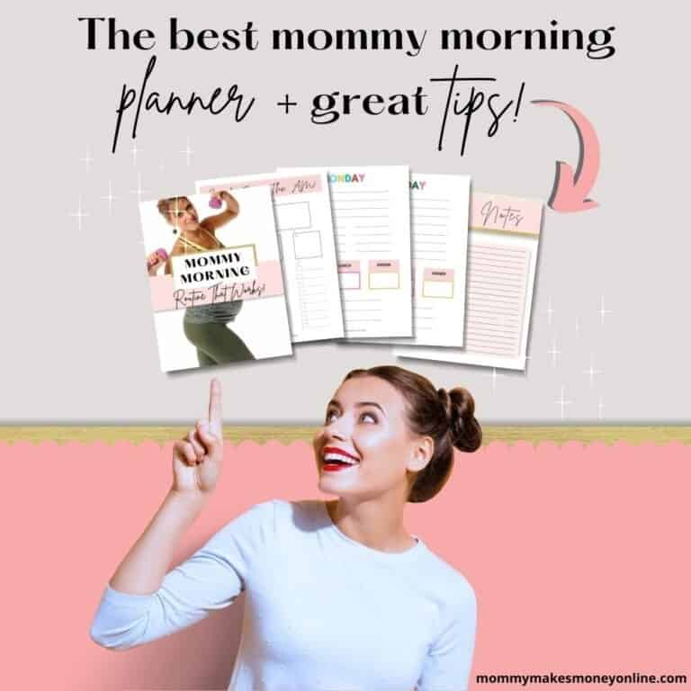 Mommy morning routine for you. Create a mom morning routine that works for you~