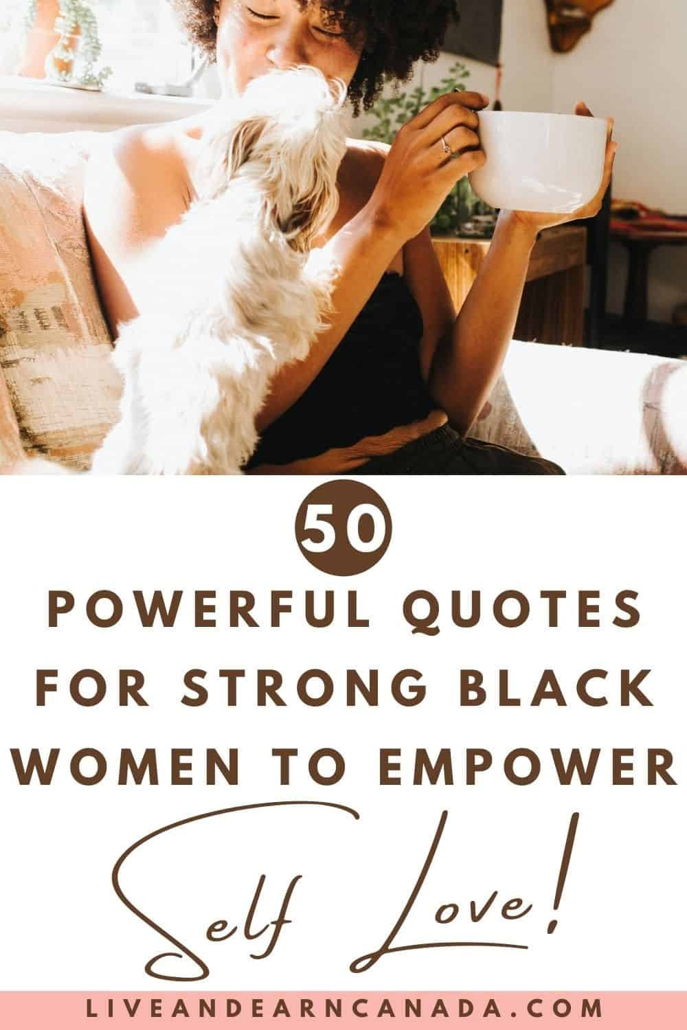 50 Powerful Quotes from Inspiring Black Women! These are inspirational, motivational, wise, and funny black women quotes, sayings, and proverbs that inspire us.
