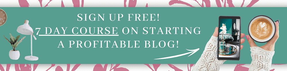 Start a profitable blog from home and make money online. Learn the steps I take every day to make money from home with a blog