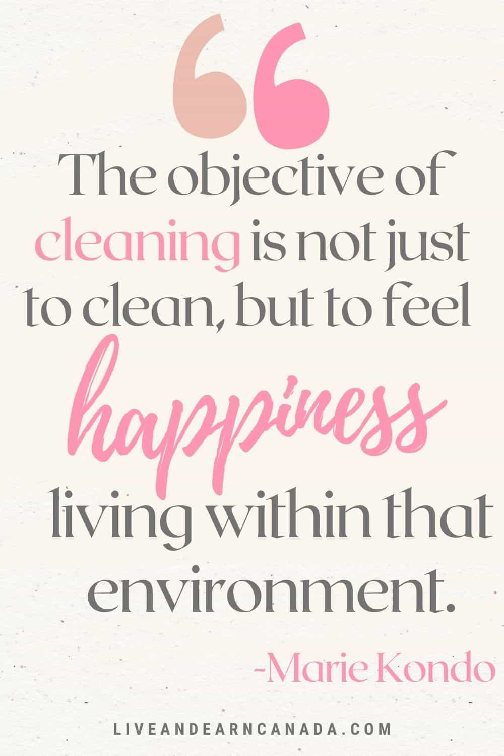 The Ultimate Guide to Decluttering Your Heart & Mind - Live and Earn Canada. {Spring Cleaning} Motivation. Spring cleaning quotes. Spring cleaning for the soul / inspiring quotes and sayings! Clutter Quotes to Inspire You to Downsize and Get Organized!