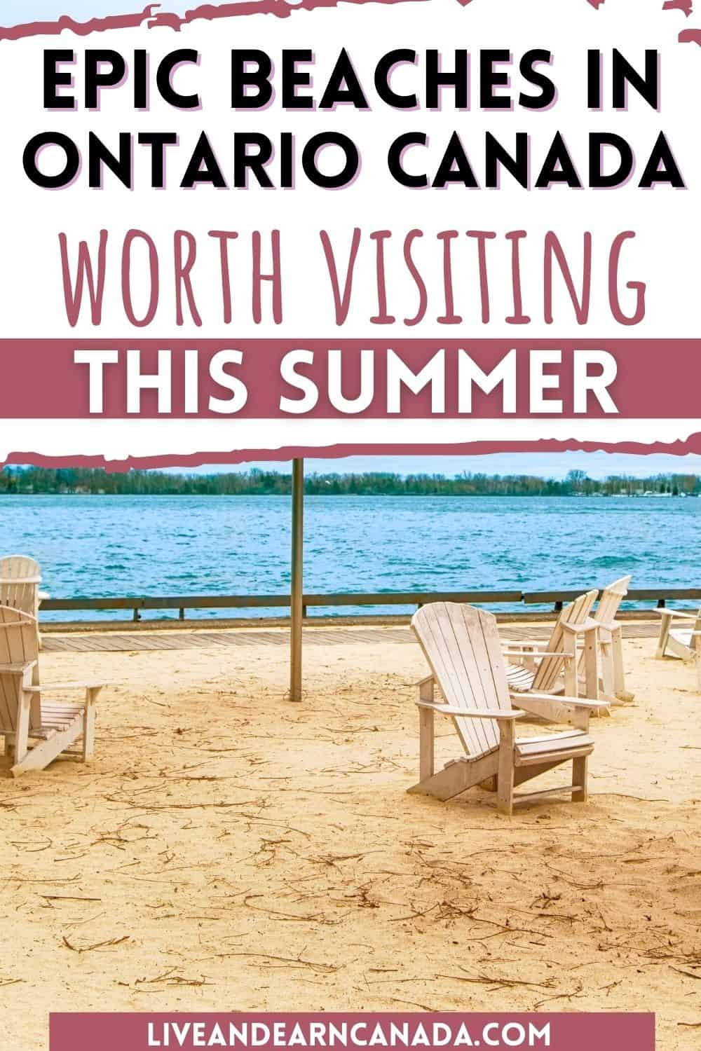 15 Best Beaches in Ontario! Ontario, Canada has beautiful freshwater beaches across the province. These 15 best beaches in Ontario are sandy beaches on gorgeous lakes. Take a day trip from Toronto to Sauble Beach or explore Sandbanks Beach in Prince Edward County.
