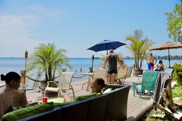 Long Beach Resort - One of the best beaches in Ontario! Be sure to also visit the Long Beach Resort, a popular resort in the area.