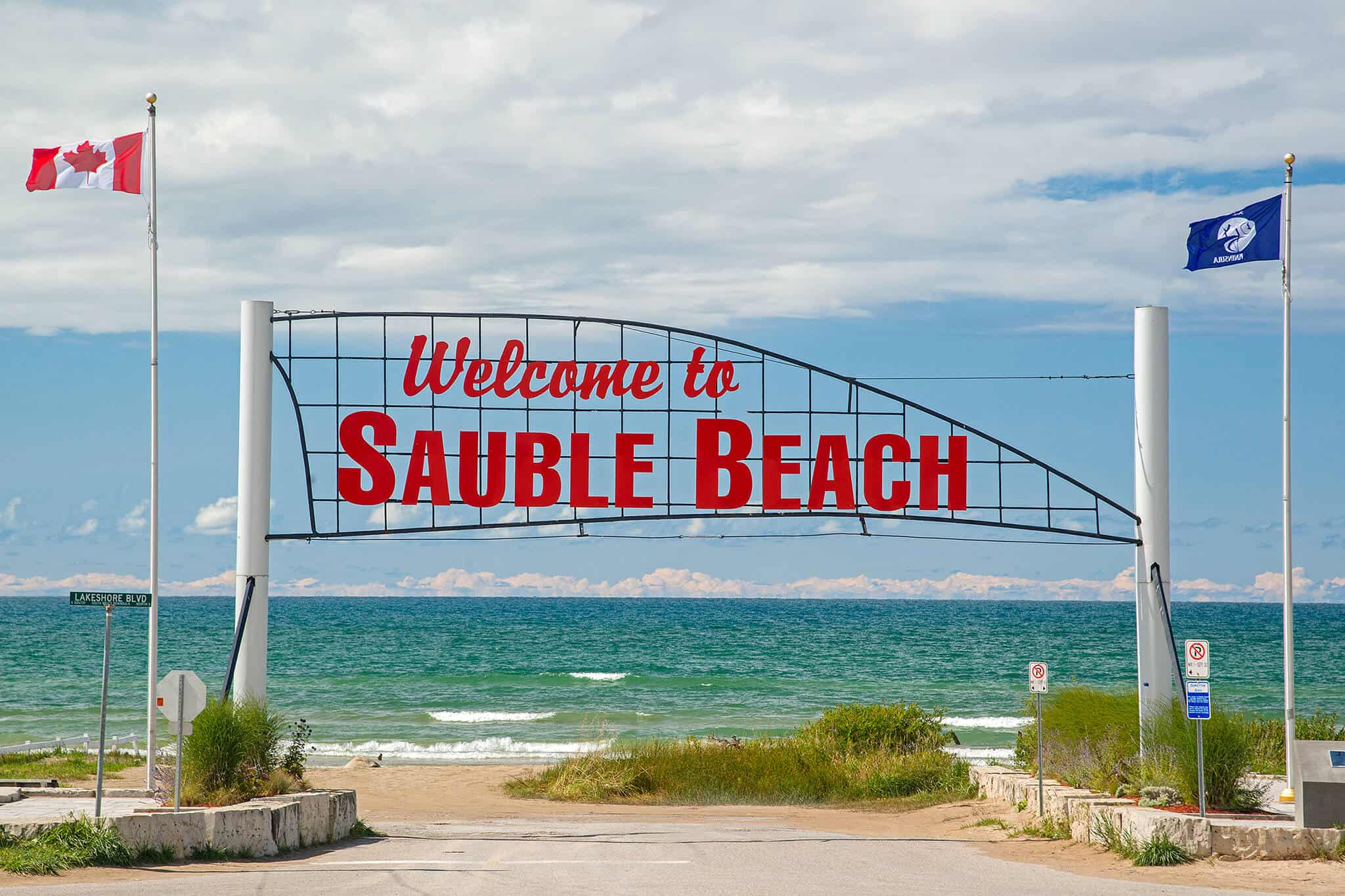If you are looking for the best beach in Ontario, you should consider Sauble Beach Ontario. It is the best beach in Ontario.